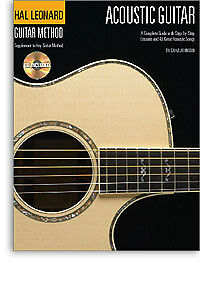 LEARN HOW TO PLAY ACOUSTIC GUITAR EASY BEGINNER LESSONS BOOK & PLAYALONG CD