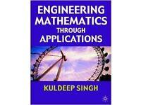 Engineering Mathematics Through Applications Book