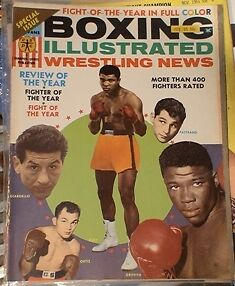 BOXING MAGAZINE. RING MAGS ETC.1950'S TO 80'S Belleville Belleville Area image 8