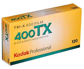Kodak TRI-X 400  120  Mittelformat    5 Filme
