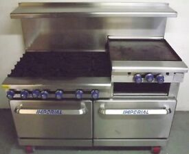 Imperial 6 Burner Gas Restaurant Range Hire/Buy over 4 Months using Easy Payments