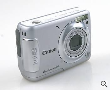 CAMERA - Canon Powershot A480 - 10 Megapixel - 3x Optical Zoom Woodridge Logan Area Preview