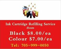 Ink refill from Blk/8.00ea Col/7.00ea