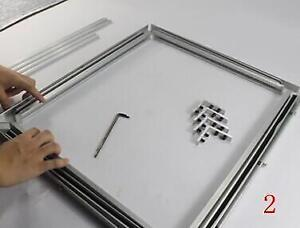 Self-tensioning Screen Frame Aluminum Material without Glue Stretch 219304