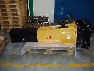 Demolition hammer Omp 270 kg .