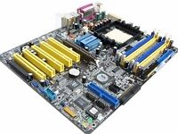 Asus main motherboard with amd 2.4 ghz cpu & 8gb ram memory only £29