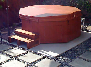 Interlocking Hot Tub Decks and Patios