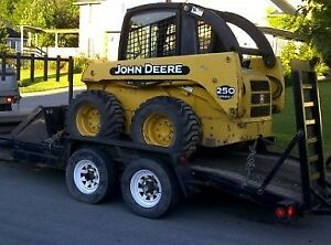 Skid steer, Mini excavator, Dump trailer service