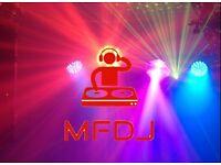 Mobile DJ - Leamington Spa. All inclusive price: DJ, Sound System and Lighting.