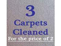 Carpet cleaning, Clean Two Carpets and get 3rd Free. Call Us Today.