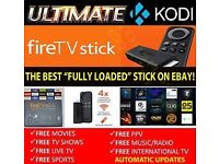 Fully loaded Amazon Fire Stick