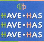 havehas