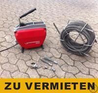 Rohrreinigungsmaschine Profi - ZU VERMIETEN Nordrhein-Westfalen - Dinslaken Vorschau