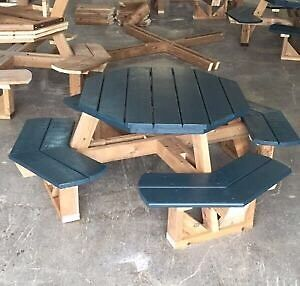 Kids and full size Octagon picnic table