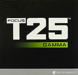 FOCUS T25 GAMMA Cycle 4 DVD Workout