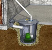 Affordable Weeping tile and sump pump instillation
