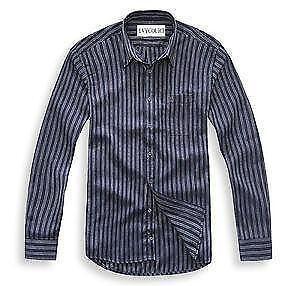 Striped long sleeve shirt ebay for Chucky long sleeve striped shirt
