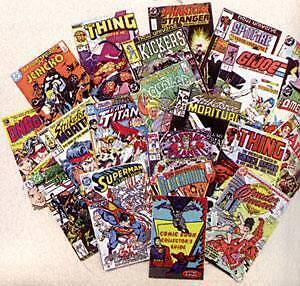 Toonie comic books