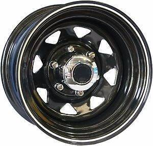 """sunraysia rims, steel wheels, 4wd, wheels. 13""""- 17"""" From $50 each Girraween Parramatta Area Preview"""