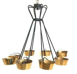 Antique Brass Hanging Lamps