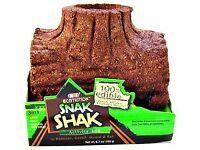 8 in 1 Ecotritional Snak Shak Log LG 100% edible Rabbits & Guinea pigs