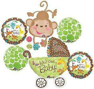 monkey baby shower decorations. Interior Design Ideas. Home Design Ideas