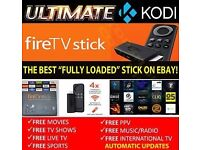 AMAZON FIRESTICK KODI WITH LATEST UPDATE FROM 1/12/16 PLUS GIFT! BEST DEAL