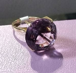 14k Gold Ring Amethyst $400