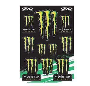 Kawasaki Monster Energy Stickers