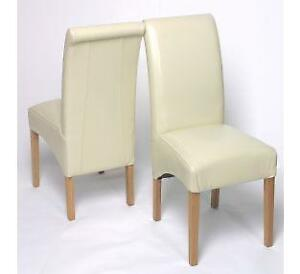 Cream Dining Room Chairs