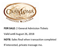 Casa Loma general admission tickets
