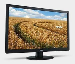 "Acer REFURBISHED 23"" Widescreen LED Backlit Monitor - 1920 x 1080, 16:9, 60Hz, 5ms, D-SUB VGA - S230HLRB - ET.VS0HP.001"