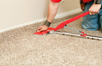 carpet installation and repairs re-stretches
