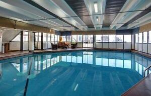 Enjoy the view in Bright Spacious 2BR! Gym and Pool