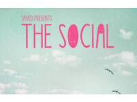 x2 tickets for Social Festival - Saturday 10 September