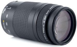 Tele objectif    EF  CANON 75-300 mm  USM   **UltraSonic**