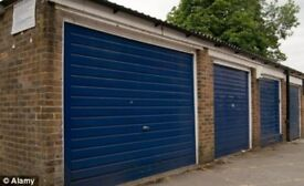 Central Trowbridge Garage and single parking space!