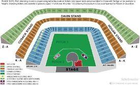 3 x Premium Level U2 tickets available Davin Stand Croke Park