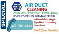 Vent Care Services Winter Special Offer $149.99 for Whole House