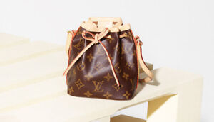 100% Authentic Louis Vuitton Nano Noe bag Made in France