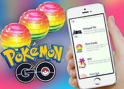 Pokemon Go Rare Candy x100 Farming Quests