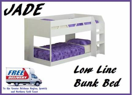BRAND NEW Low line Kids Bunk Bed Delivered FREE with WARRANTY