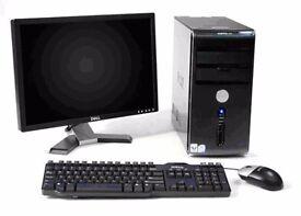 Dell Vostro 220 Intel Core2Duo 2.93Ghz Full PC Computer WIFI 250GB 2GB Windows 10 / 7 30Day Warranty