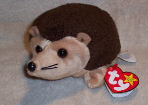 Prickles the Hedgehog Ty Beanie Baby stuffed animal
