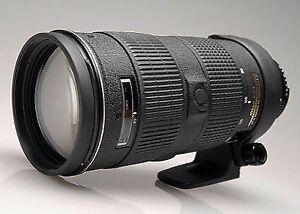 NIKON AF-S 80-200mm f2.8 D ED lens in excellent condition