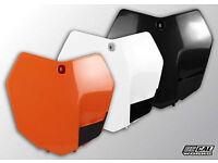 New Front Number Board KTM SX 85 13-15 Motocross Plastic Black