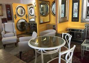 Up to 70% off, all solid timber mirror in antique Gold or silver