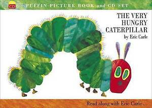The Very Hungry Caterpillar - Book & CD Set By Eric Carle