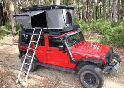 ROOF TOP TENT HARD SHELL & roof tent rack | Gumtree Australia Free Local Classifieds