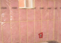 insulation and basement wrap